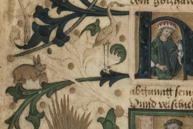 Ein (Oster-)Hase gut versteckt auf den Sunthaym-Tafeln